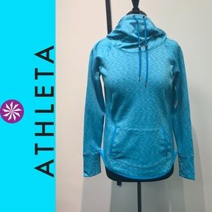 !New Athleta Tranquility Space Dye Hoodie!